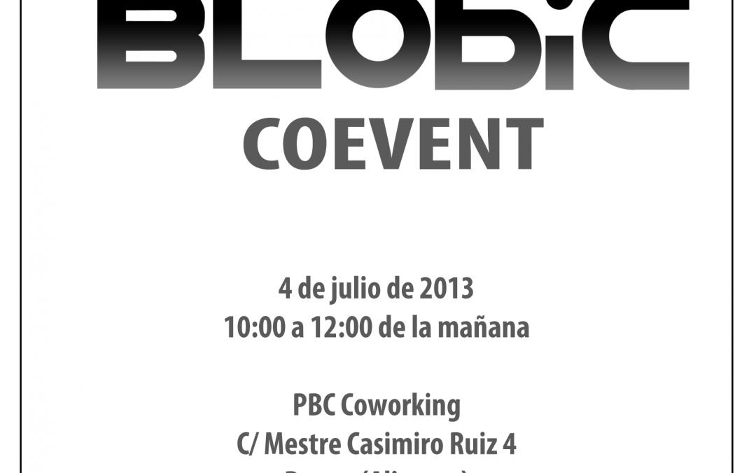 PBC Coworking acoge el 1º Blobic CoEvent