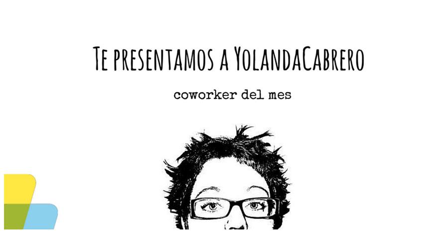 Yolanda Cabrero, coworker del mes de noviembre
