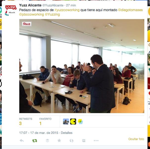 Yuzz Alicante en PBC Coworking, #Yuzzcoworking