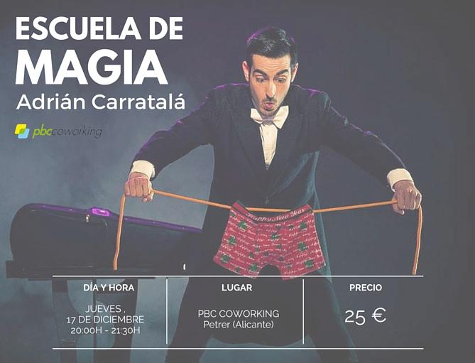 Taller de Magia Adrian Carratala